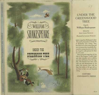 Dust Jackets - Under the greenwood tree.