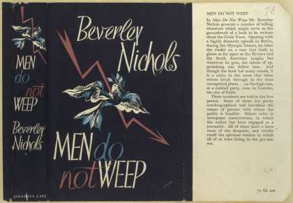 Dust Jackets - Men do not weep.