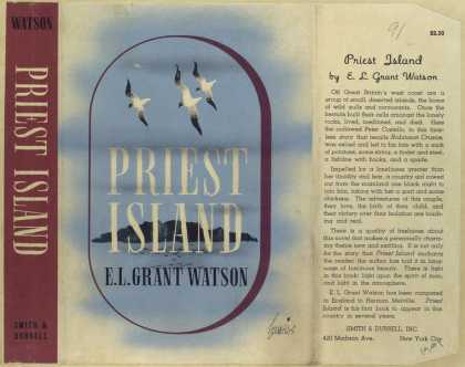 Dust Jackets - Priest island.