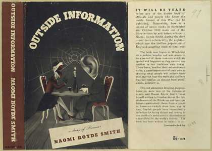 Dust Jackets - Outside information.