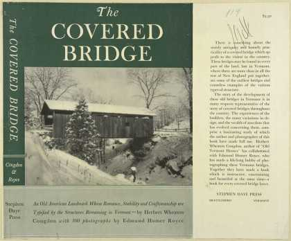 Dust Jackets - The covered bridge, an ol