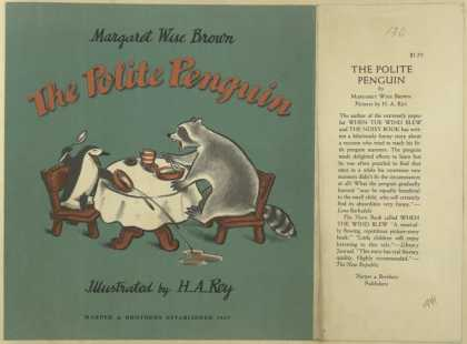 Dust Jackets - The polite penguin.
