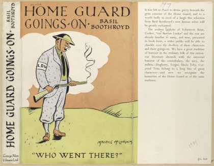Dust Jackets - Home guard goings-on.