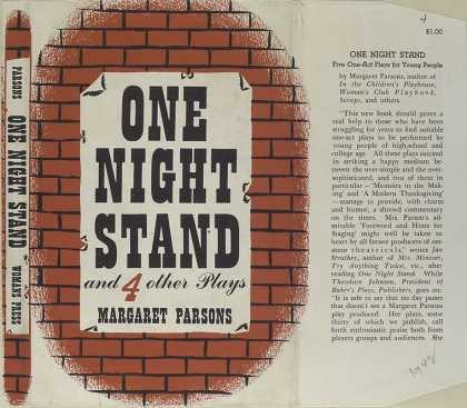 Dust Jackets - One night stand , and 4 o