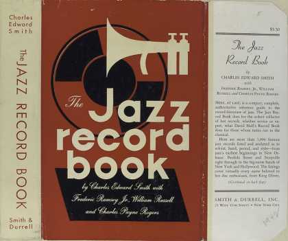 Dust Jackets - The jazz record book.