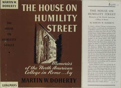 Dust Jackets - The house on Humility Str