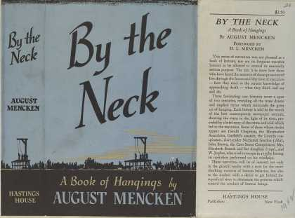 Dust Jackets - By the neck a book of ha