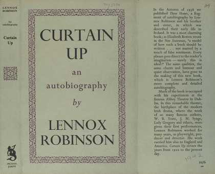 Dust Jackets - Curtain up : an autobiogr