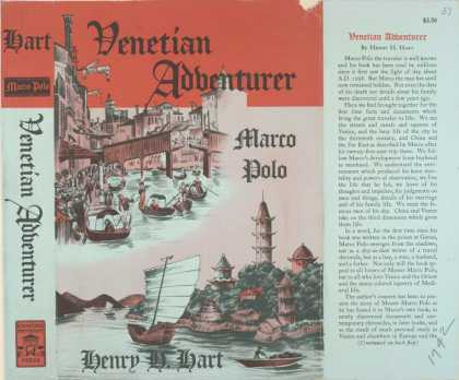 Dust Jackets - Venetian adventurer: Marc