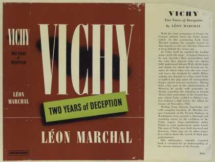 Dust Jackets - Vichy two years of decep