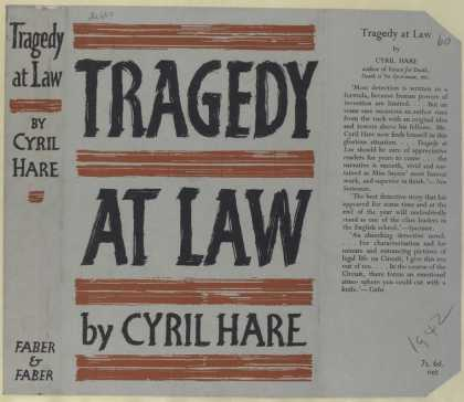 Dust Jackets - Tragedy at law.