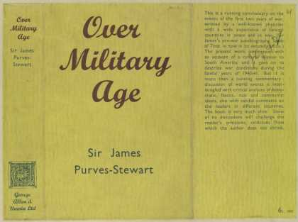 Dust Jackets - Over military age.