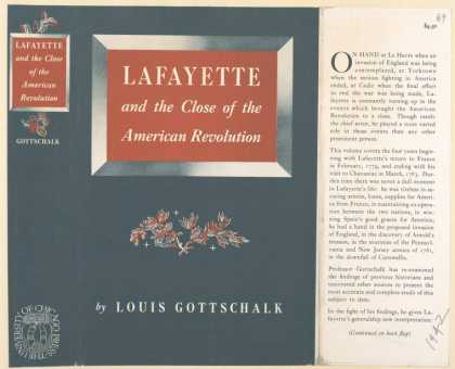 Dust Jackets - Lafayette and the close o