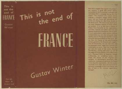 Dust Jackets - This is not the end of Fr