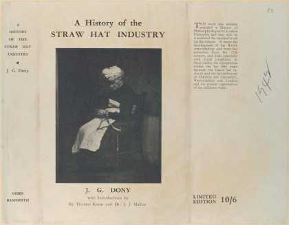 Dust Jackets - A history of the straw ha