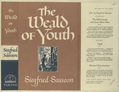 Dust Jackets - The weald of youth.