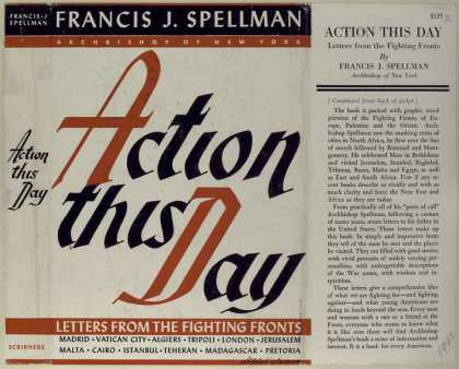 Dust Jackets - Action this day letters