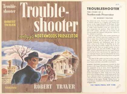 Dust Jackets - Trouble-shooter the stor