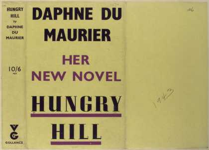 Dust Jackets - Hungry hill.