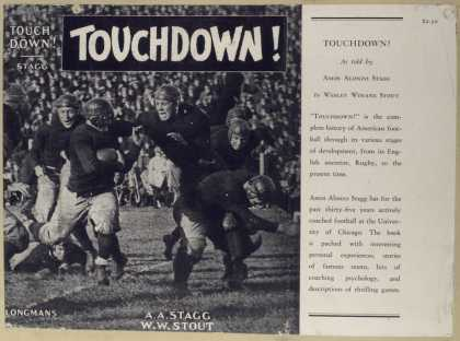 Dust Jackets - Touchdown!