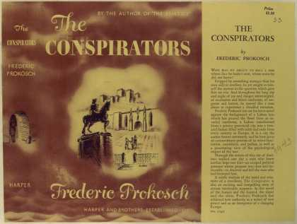 Dust Jackets - The conspirators.