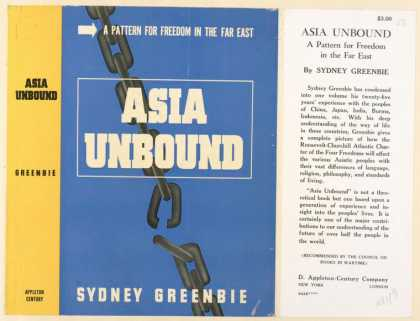 Dust Jackets - Asia unbound, a pattern f