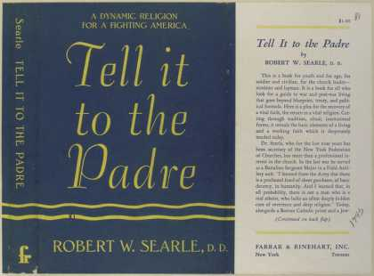 Dust Jackets - Tell it to the padre.