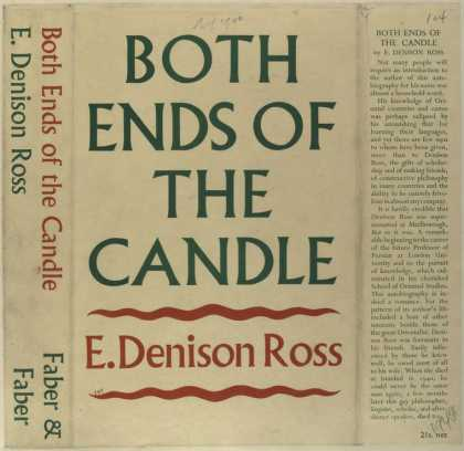 Dust Jackets - Both ends of the candle.