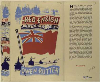 Dust Jackets - Red ensign, a history of