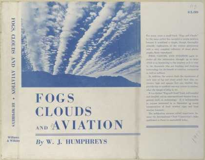 Dust Jackets - Fogs, clouds, and aviatio
