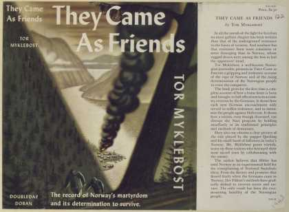 Dust Jackets - They came as friends.