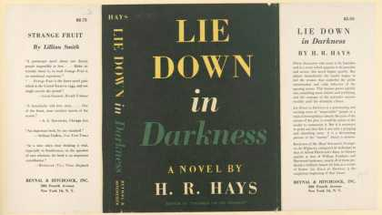 Dust Jackets - Lie down in darkness.