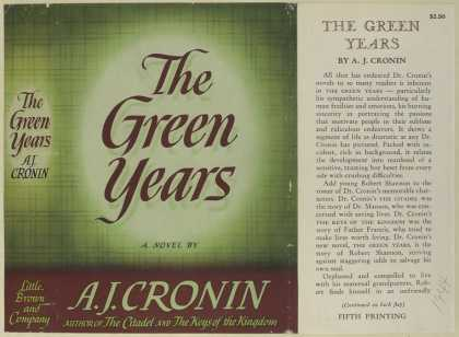 Dust Jackets - The green years.