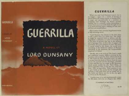 Dust Jackets - Guerrilla, a novel.