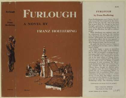 Dust Jackets - Furlough, a novel.