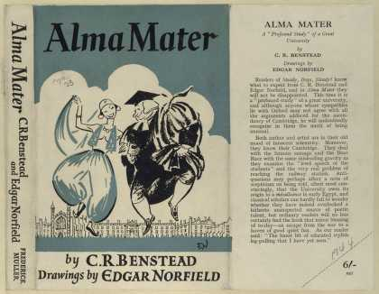 Dust Jackets - Alma mater, a profound st