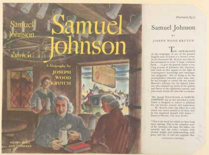 Dust Jackets - Samuel Johnson.
