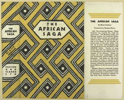 Dust Jackets - The African saga.