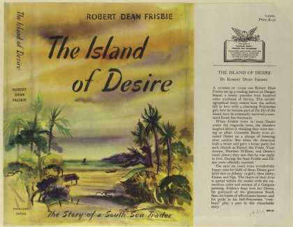 Dust Jackets - The island of Desire, the