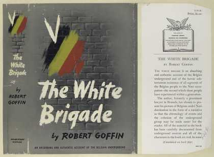 Dust Jackets - The white brigade.