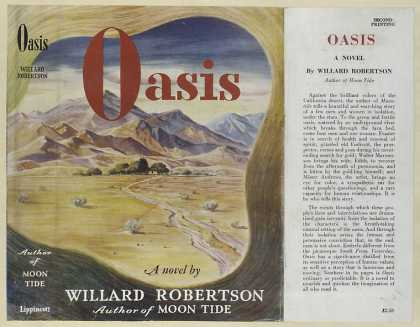 Dust Jackets - Oasis, a novel.