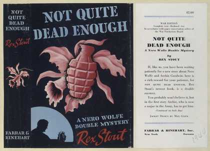 Dust Jackets - Not quite dead enough, a