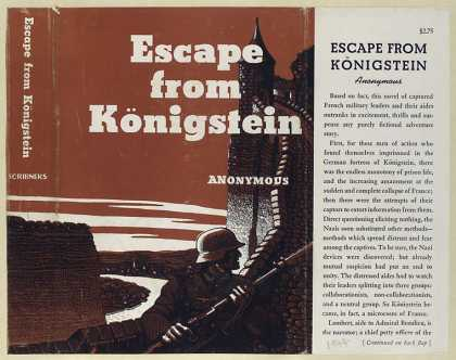 Dust Jackets - Escape from Königstein.