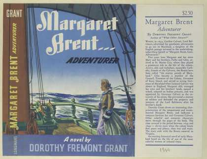 Dust Jackets - Margaret Brent, adventure