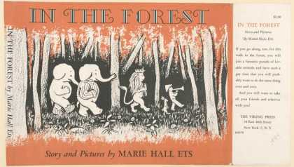 Dust Jackets - In the forest story and