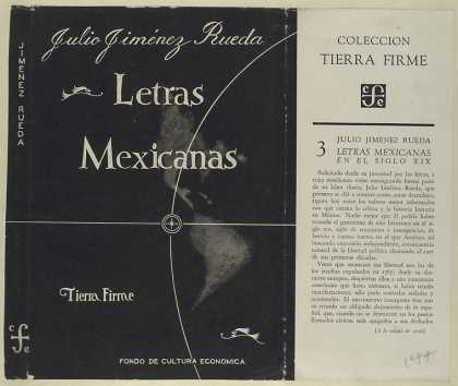 Dust Jackets - Letras mexicanas.