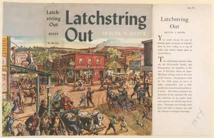 Dust Jackets - Latchstring out.