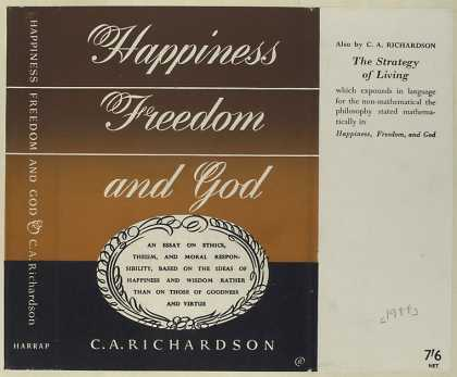 Dust Jackets - Happiness, freedom and Go