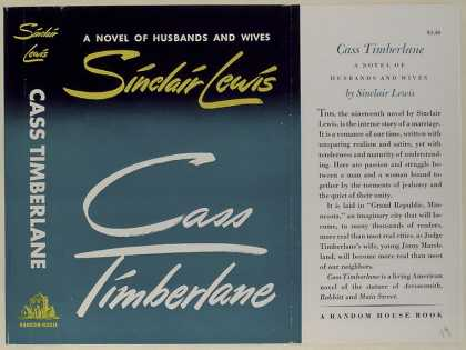 Dust Jackets - Cass Timberlane, a novel