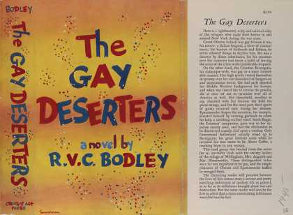 Dust Jackets - The gay deserters.